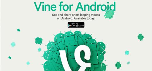 header image 1370276809 520x245 - Vine est maintenant disponible sur Android!