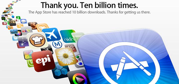 Pour les 5 ans de l'iTunes App Store plusieurs applications deviennent gratuites!