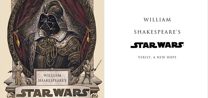 header image will - Star Wars écrit par Shakespeare, en livre et en vidéo!