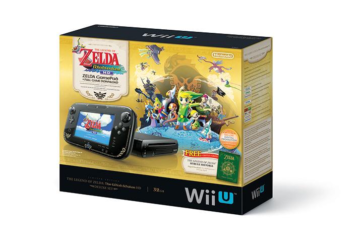 Nintendo Wii U Zelda Edition - Nouvelles consoles de Nintendo: une Wii U Zelda Wind Waker et la 2DS!