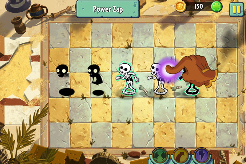 pvz2 ss3 - Critique de Plants vs. Zombies 2 (iOS)