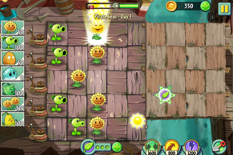 pvz2 ss4 - Critique de Plants vs. Zombies 2 (iOS)