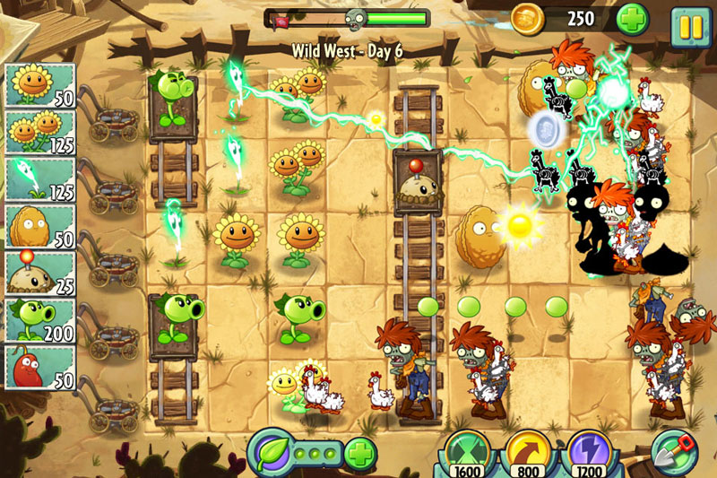 pvz2 ss5 - Critique de Plants vs. Zombies 2 (iOS)