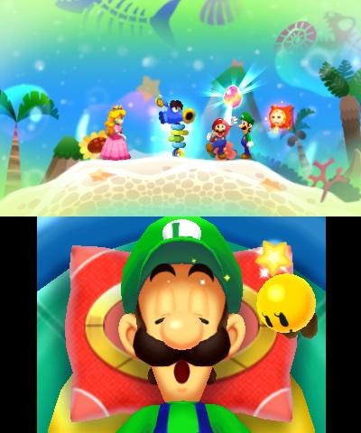 i 40044 - Critique de Mario & Luigi: Dream Team (3DS)