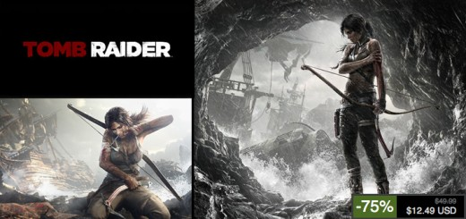 tomb raider promo 520x245 - Tomb Raider à -75% jusqu'à demain soir sur les serveurs Steam!