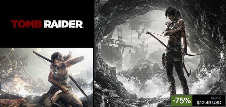 tomb raider promo - Tomb Raider à -75% jusqu'à demain soir sur les serveurs Steam!