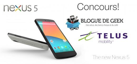 concours nexus 5 telus 520x245 - Gagnez un Nexus 5 de Google avec Telus! [Concours]