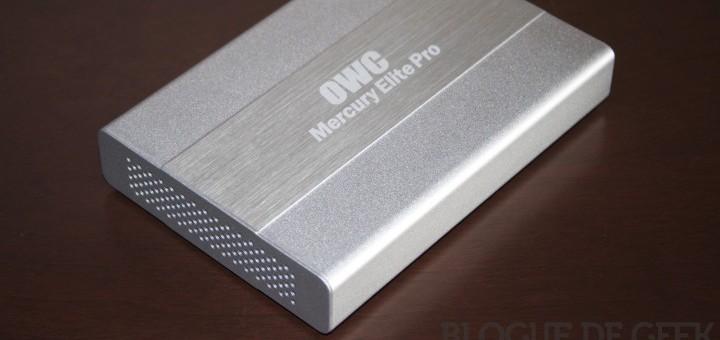 Test du OWC Mercury Elite Pro Mini