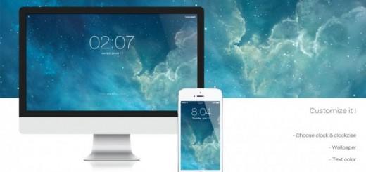 header image 1389924506 520x245 - Un économiseur d'écran à la sauce iOS 7 pour votre Mac!