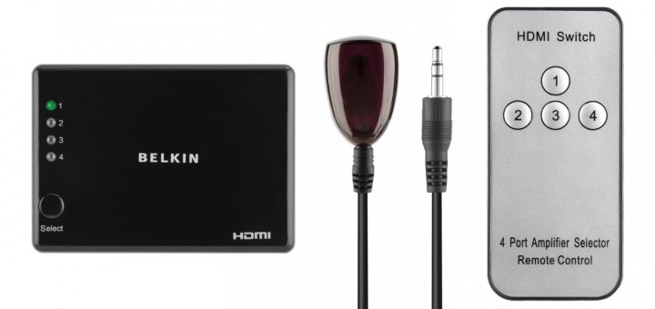 Concentrateur HDMI 4 ports de Belkin [Test]