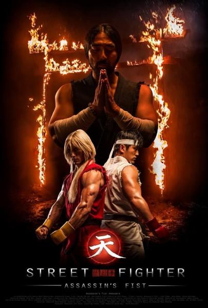 Assassins Fist first official poster Ken and Ryu 405x600 - Street Fighter: Assassin's Fist, les détails et bande-annonces