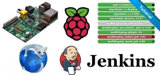 raspberry pi jenkins wall display 2 520x245 - Créer un affichage mural Jenkins avec un Raspberry Pi [Tutoriel]