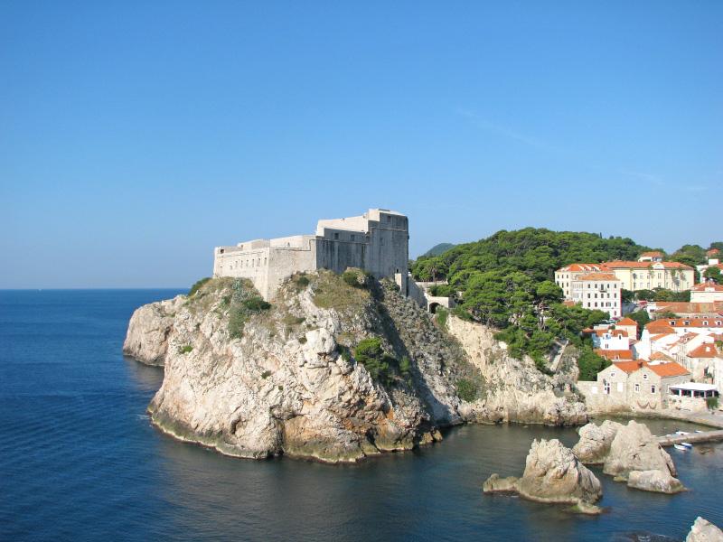 Croatie Dubrovnik Fort Lovrijenac - Retour aux sources dans les décors de films à grande production