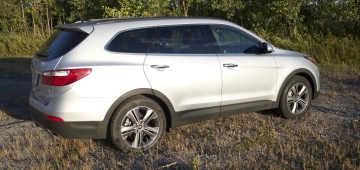 hyundai santa fe xl entete - Hyundai Santa Fe XL 2014 [Essai routier]