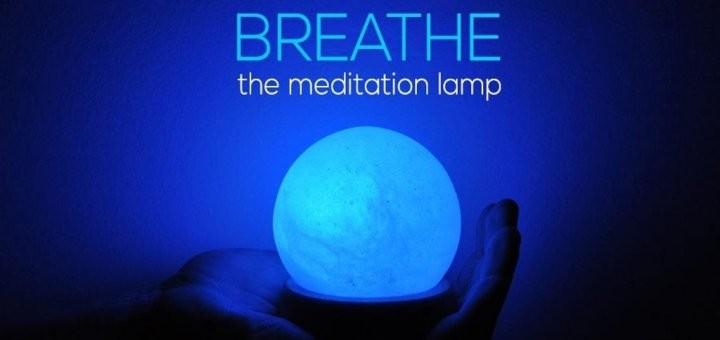 Breathe, la lampe de méditation [Kickstarter]