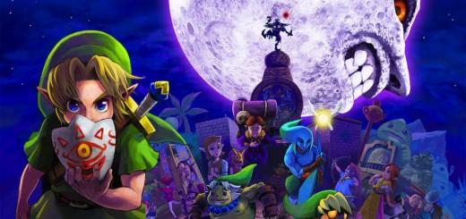 Majoras Mask Artwork imp 520x245 - Legend of Zelda: Majora's Mask 3D (3DS)