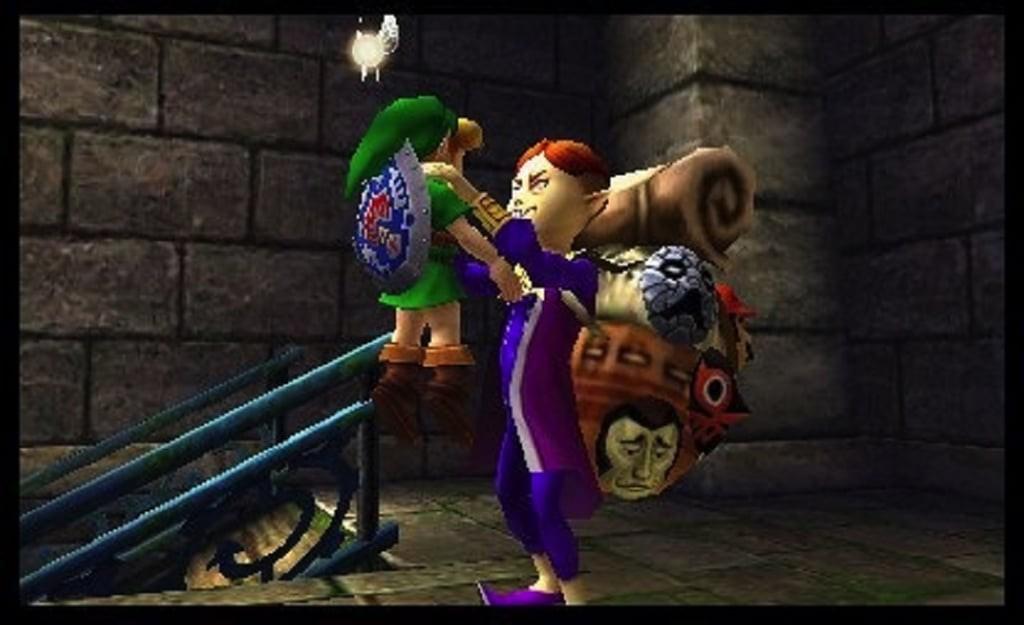 zelda majora mask 3ds 02 1024x625 - Legend of Zelda: Majora's Mask 3D (3DS)