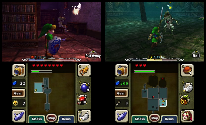 zelda majora mask 3ds 03 06 - Legend of Zelda: Majora's Mask 3D (3DS)