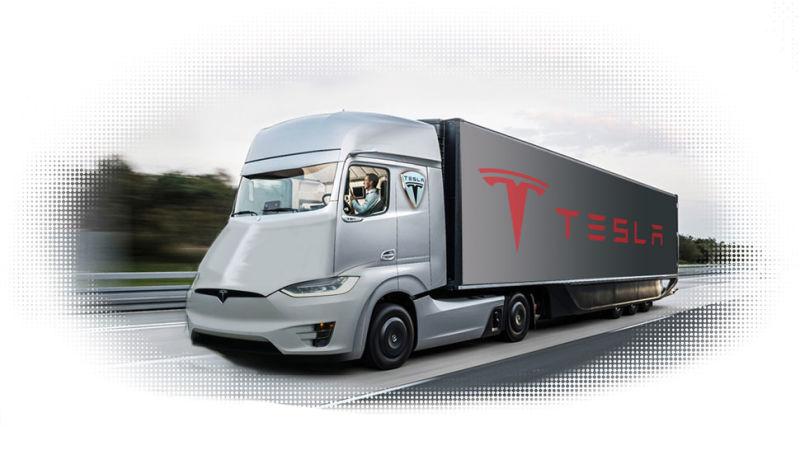 tesla self driving truck - Automatisation des transports, une étape importante