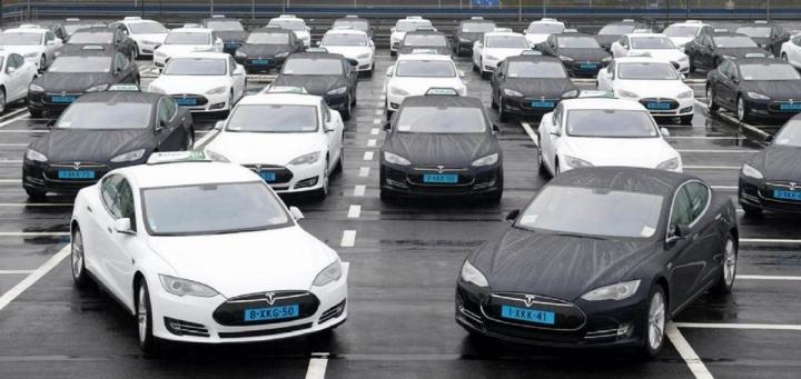 plus voiture electrique - La modernisation des flottes de véhicules est de mise